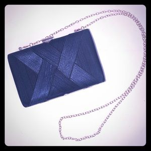Lenore by La Regale Criss Cross Minaudiere Handbag